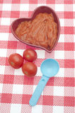 Canned Tomato Soup Stock Image