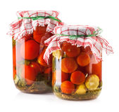 Canned Tomatoes Stock Image