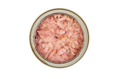 Canned tuna closed Stock Photo