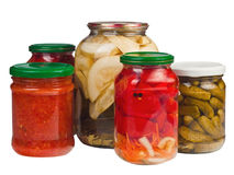 Canned Vegetables Stock Photos