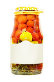 Canned vegetables Royalty Free Stock Photos