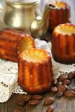 Cannele Bordelais. French small cake. Royalty Free Stock Image