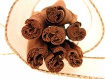 Cannella in nastro Fotografia Stock
