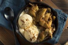 Cannella sauteed casalinga Sugar Apples Fotografia Stock Libera da Diritti
