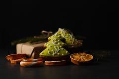 Cannelle de biscuits de Noël Images libres de droits