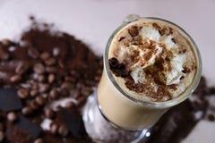 Cannelle de cappuccino Photos libres de droits