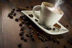 Cannelle de Coffe Photographie stock libre de droits