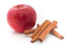 cannelle de pomme Photos libres de droits