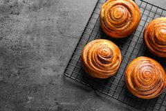 Cannelle douce Rolls image stock