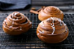 Cannelle douce Rolls photos stock