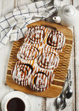 Cannelle douce Rolls Photo stock