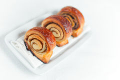 Cannelle Rolls Photos stock