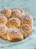 Cannelle Rolls Photographie stock