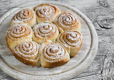 Cannelle Rolls photo stock