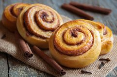 Cannelle Rolls Images stock