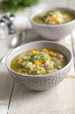Cannellini bean soup Royalty Free Stock Photography
