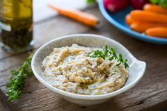 Cannellini or White beans dip Royalty Free Stock Photography