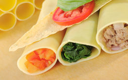 Cannelloni Imagens de Stock Royalty Free