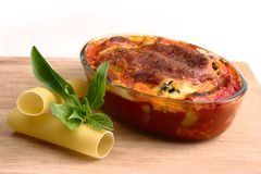 Cannelloni Royalty Free Stock Photography
