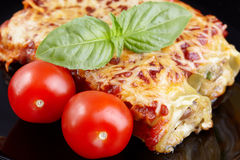 Cannelloni Photographie stock
