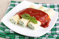 Free Cannelloni Stock Images - 25093174