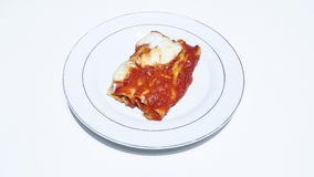 cannelloni Royaltyfri Foto