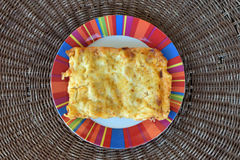 Cannelloni al forno Royalty Free Stock Image