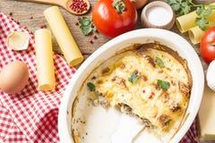cannelloni royalty-vrije stock foto