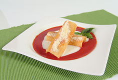 Cannelloni italien Images stock