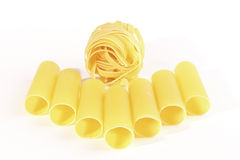 Cannelloni and nest Royalty Free Stock Photo