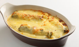 Cannelloni from the oven Stock Image