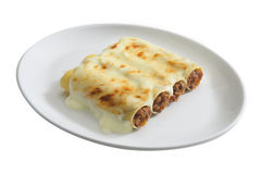 Cannelloni ripieni Royalty Free Stock Images