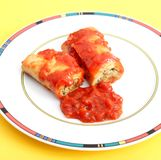 Cannelloni Stock Image