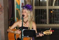 Cannelure de ressort au festival de musiciens de rue de Ferrare Photos libres de droits