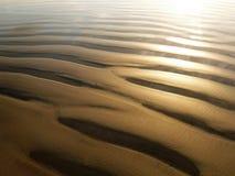 Cannelures de sable Photo libre de droits