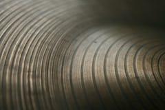 Cannelures sur un Symbal Images libres de droits