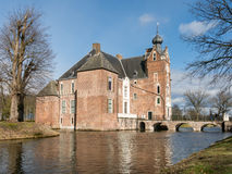 Cannenburch Castle in Vaassen, Netherlands Royalty Free Stock Photos