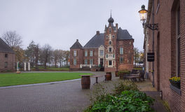 Cannenburgh Castle is a 16th century castle in Vaassen Stock Photography
