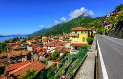 Cannero old town, Lago Maggiore, Italy Stock Photography