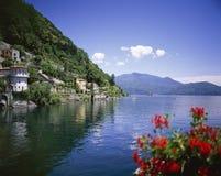 CANNERO RIVIERA Lago Maggiore imagens de stock