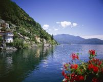 CANNERO RIVIERA.LAKE MAGGIORE. stock images