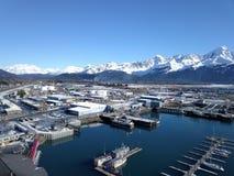 Cannery морепродуктов Аляски стоковые фотографии rf