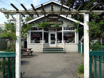 Cannery Cafe Steveston BC Canada Stock Image