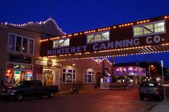 Cannery Row, Monterey Stock Image