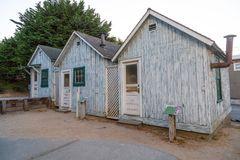 Cannery Row Huts Stock Photography