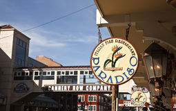 Cannery Row, Monterey, California Stock Image