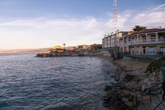 Cannery Row in Monterey royalty free stock photos