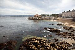 Cannery Row Waterfront Stock Photo