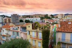 Cannes-Ansicht, Frankreich Stockfoto