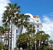 Cannes - Architecture of Cannes Royalty Free Stock Photography